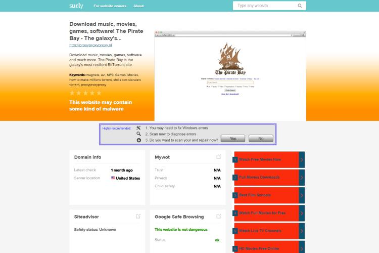 The pirates bay site list | Pirate Bay Proxy List  Official