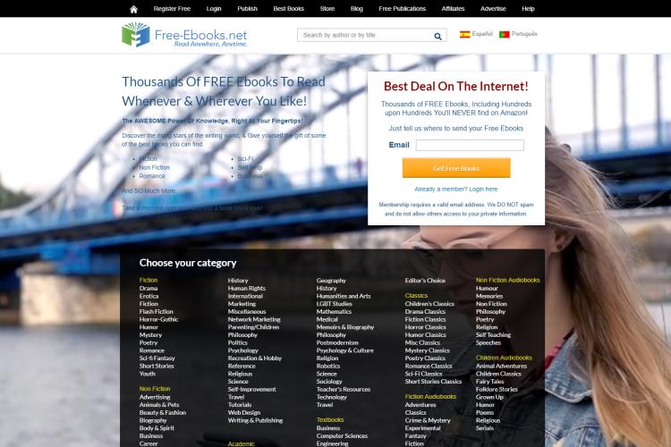 30+ Best Sites for Free eBooks Download 2019