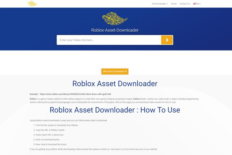 Tips on Quick ROBLOX Asset Downloader of 2019